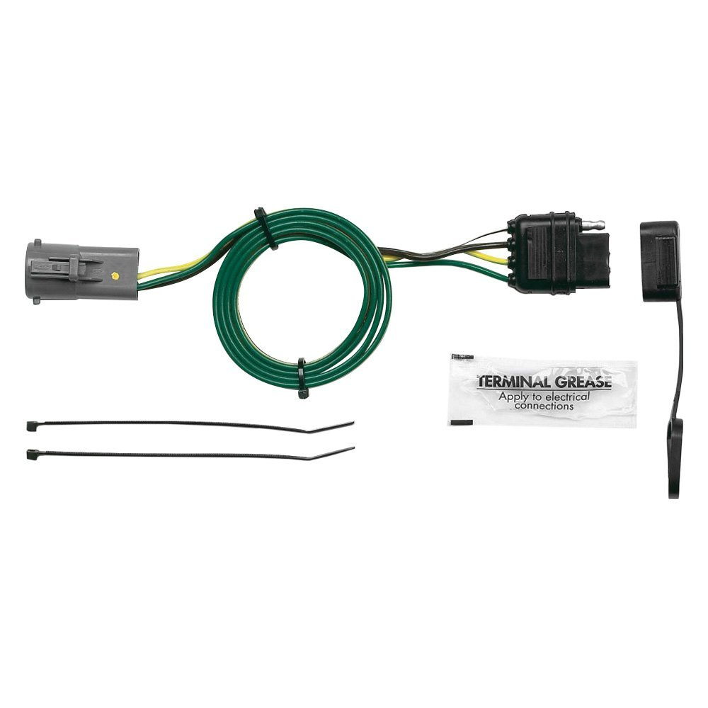medium resolution of towing wiring harness with 4 flat