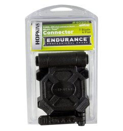 endurance multi tow 7 blade and 4 flat oem replacement sockethopkins  [ 1000 x 1000 Pixel ]