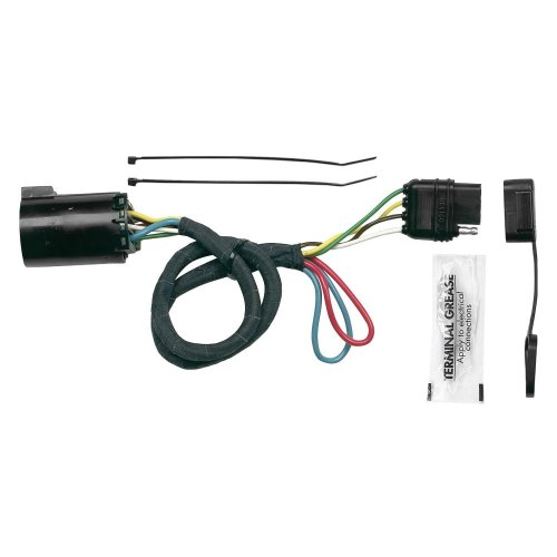 small resolution of hopkins plug in simple towing wiring harness with 4 flat
