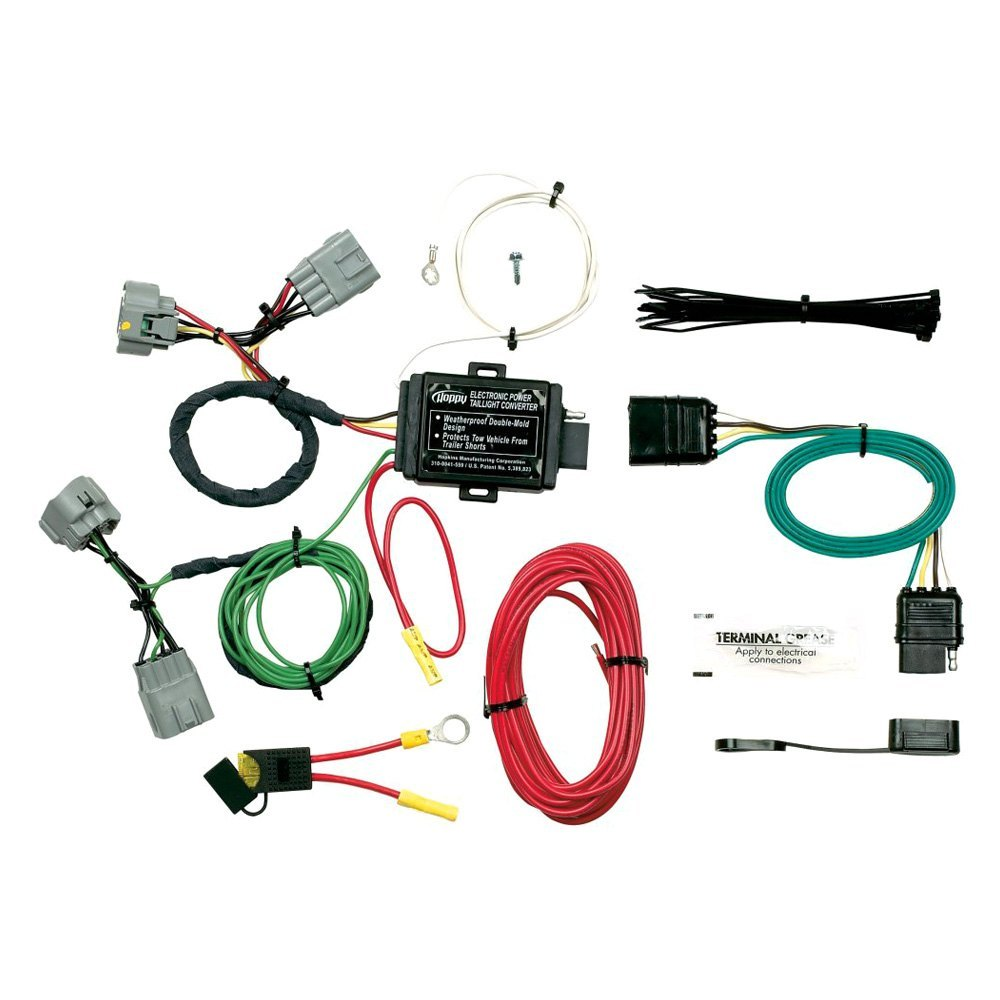 hight resolution of for jeep grand cherokee 2005 2007 hopkins 42545 towing wiring harness ebay