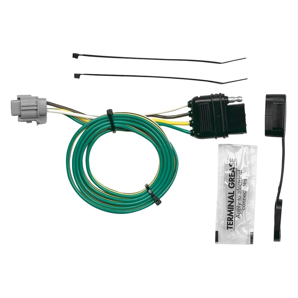 hight resolution of hopkins u00ae nissan frontier 2012 towing wiring harness 4 prong trailer wiring harness nissan frontier 2017