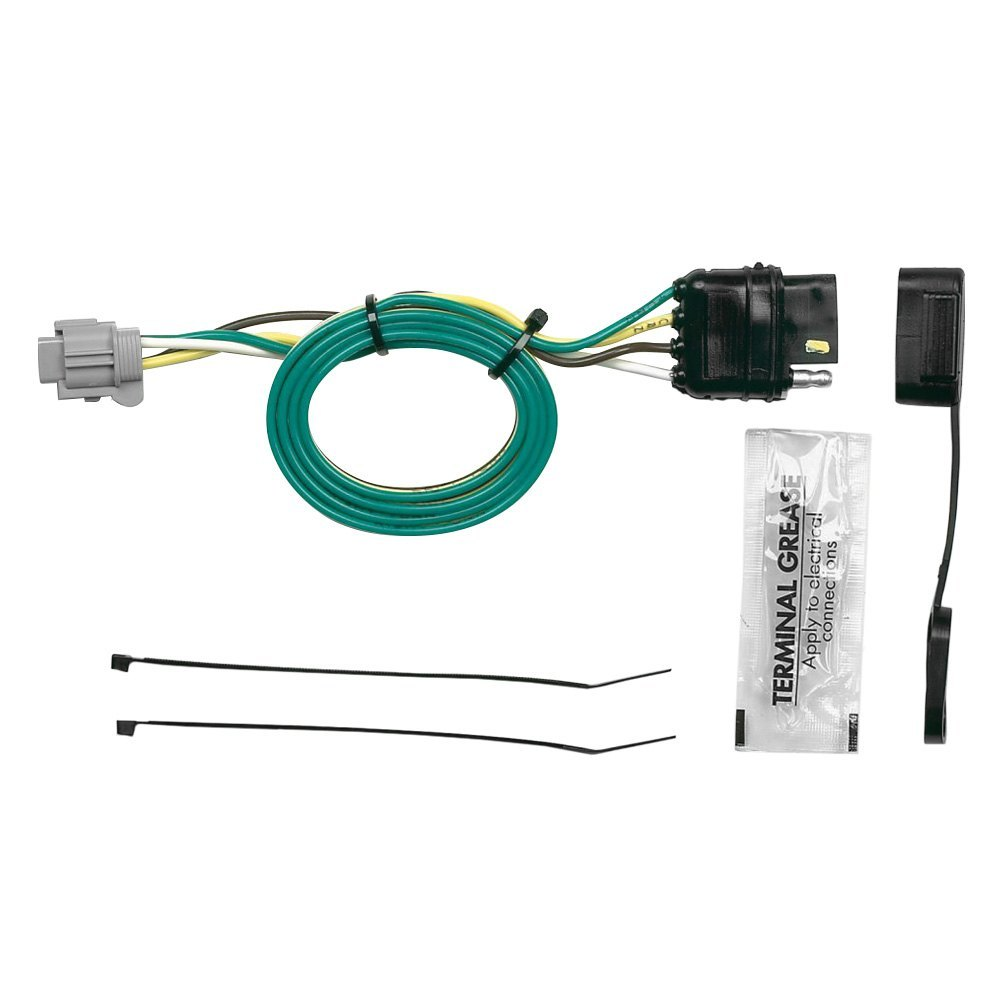 medium resolution of towing wiring harness with 4 flat connector
