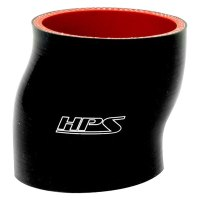 HPS - High Temperature Silicone Offset Coupler Hose Black