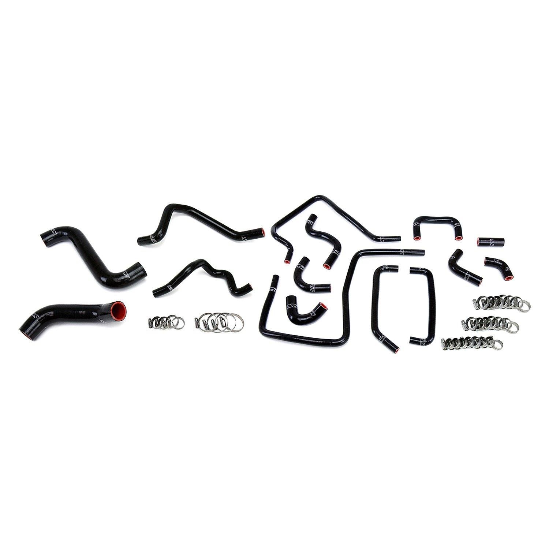For Subaru Impreza 2005 HPS 57-1814-BLK Radiator, Heater