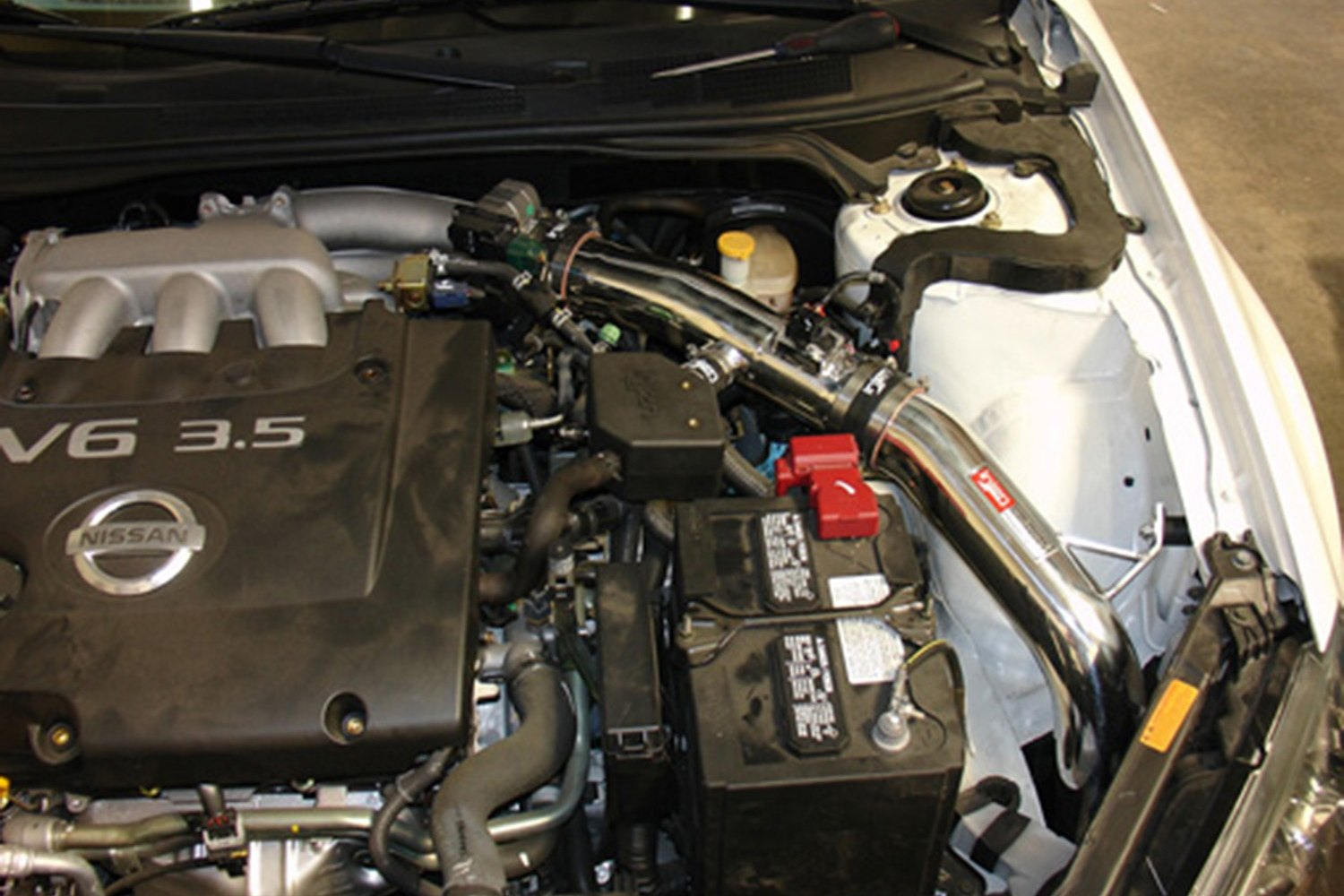 hight resolution of injen sp series cold air intake system with blue filter injen nissan altima 2006