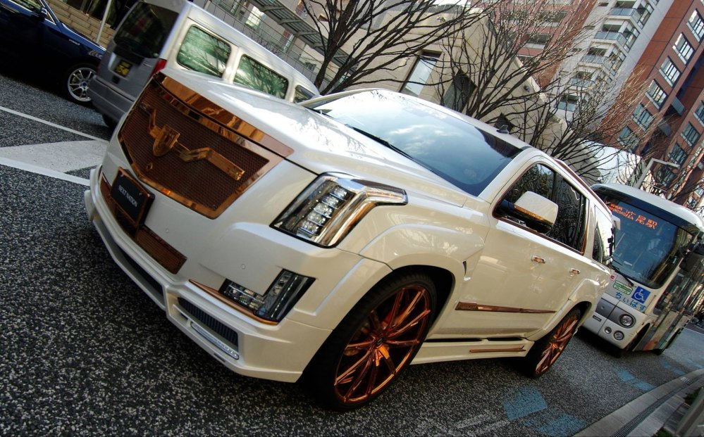 medium resolution of cadillace escalade luxury customization photo by lexani
