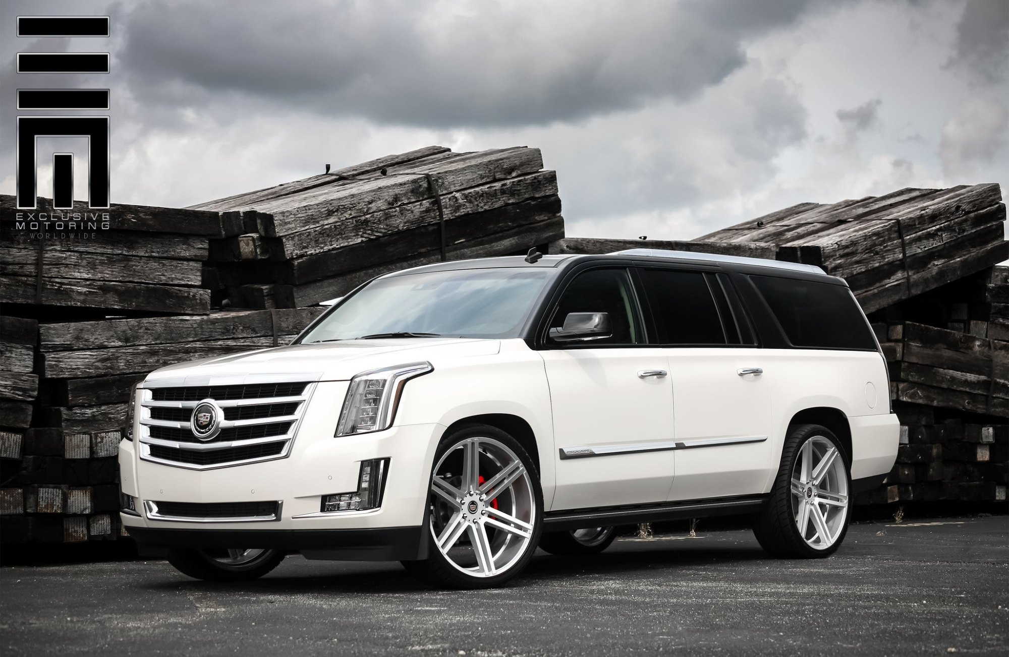 hight resolution of top white escalade photo by exclusive motoring