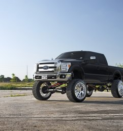 black ford f 250 with 12 inch lift kit photo by fuel offroad [ 2048 x 1367 Pixel ]