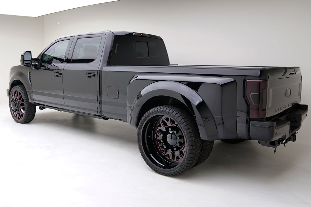 medium resolution of new body style ford f350 with custom wheels photo by mad industries