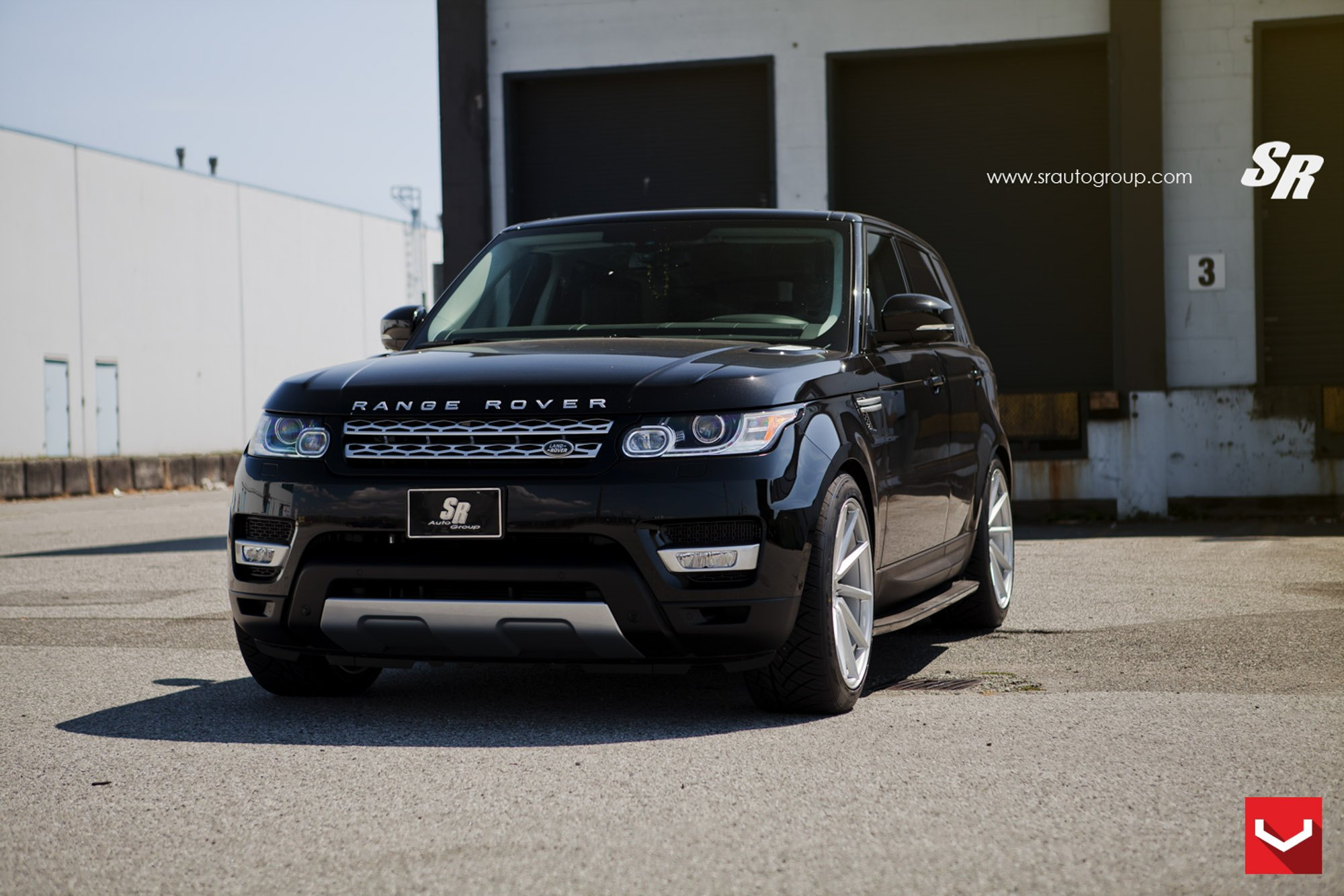 Spruced Up Gloss Black Land Rover Range Rover Sport — CARiD
