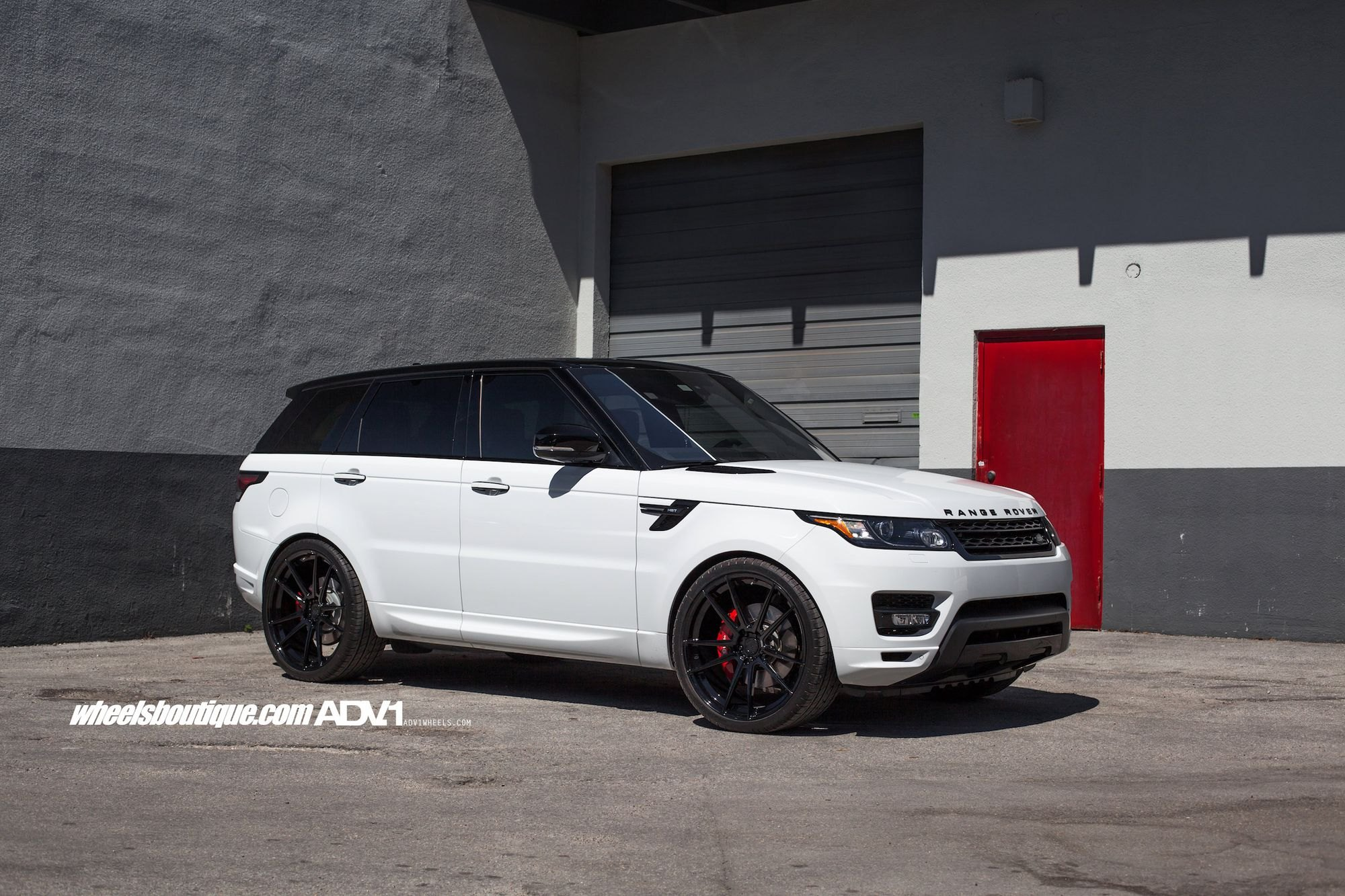 Black And White Ballance in Range Rover Sport by ADV1 — CARiD