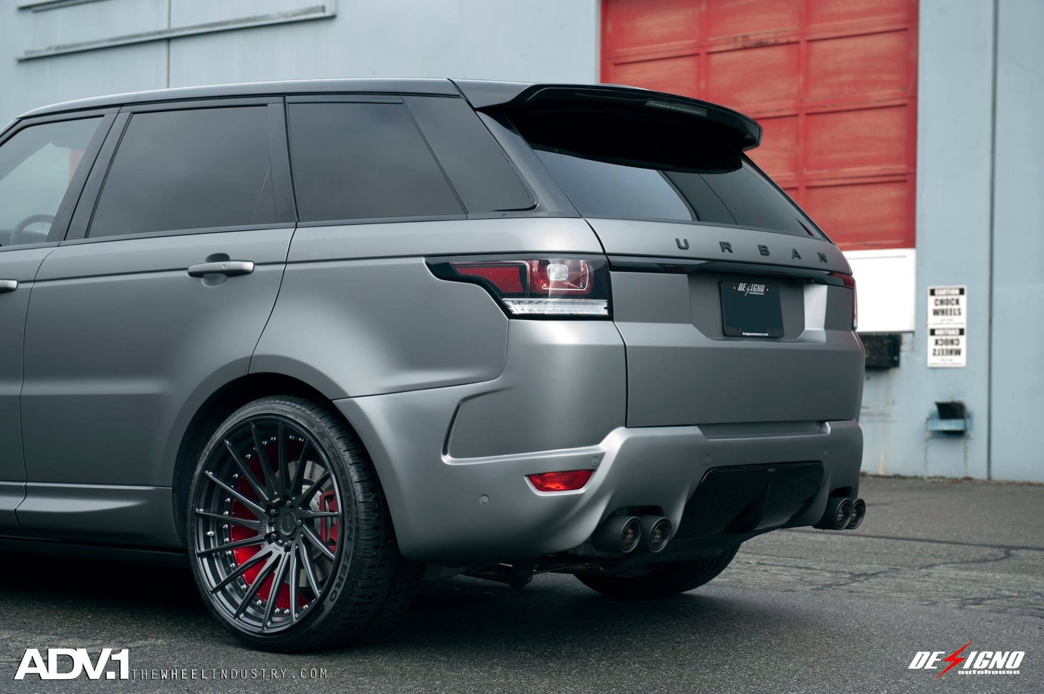 Performance and visual tweaks for Range Rover Sport — CARiD