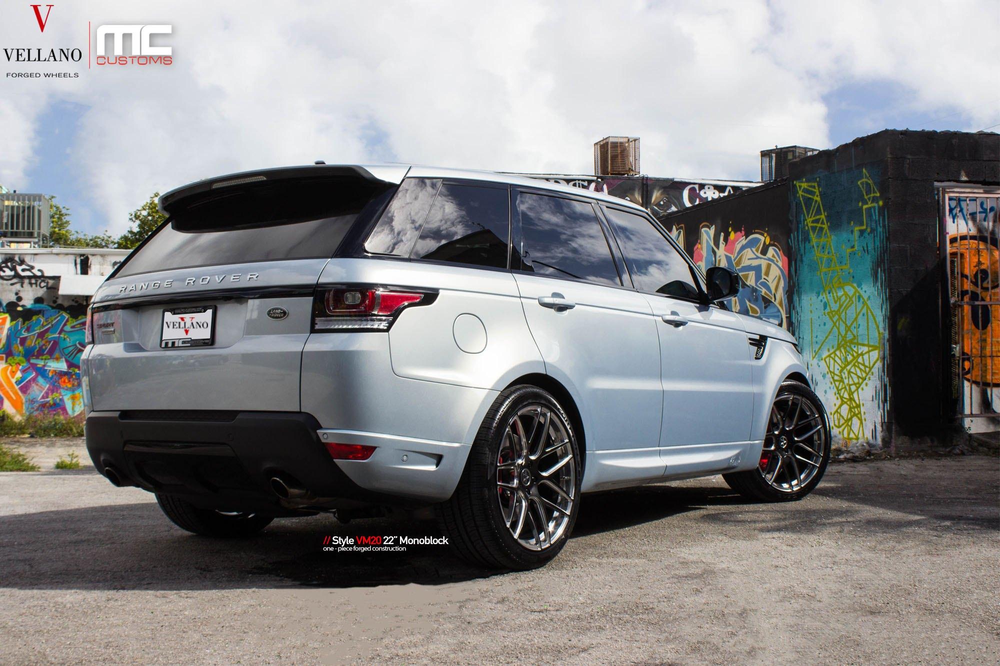 Modern Tuning for Custom Light Blue Range Rover Sport — CARiD