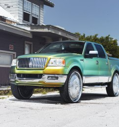 lincoln mark lt on custom dub wheels photo by dub [ 2048 x 1366 Pixel ]