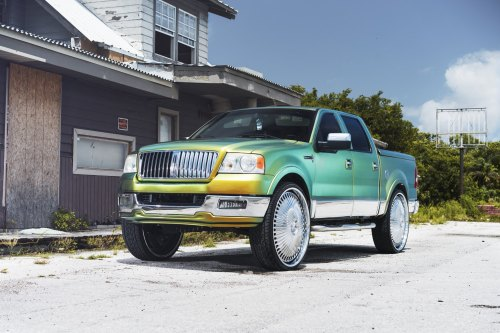 small resolution of lincoln mark lt on custom dub wheels photo by dub