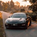 Fully Bespoke Exterior Bits On Black Porsche Panamera Carid Com Gallery