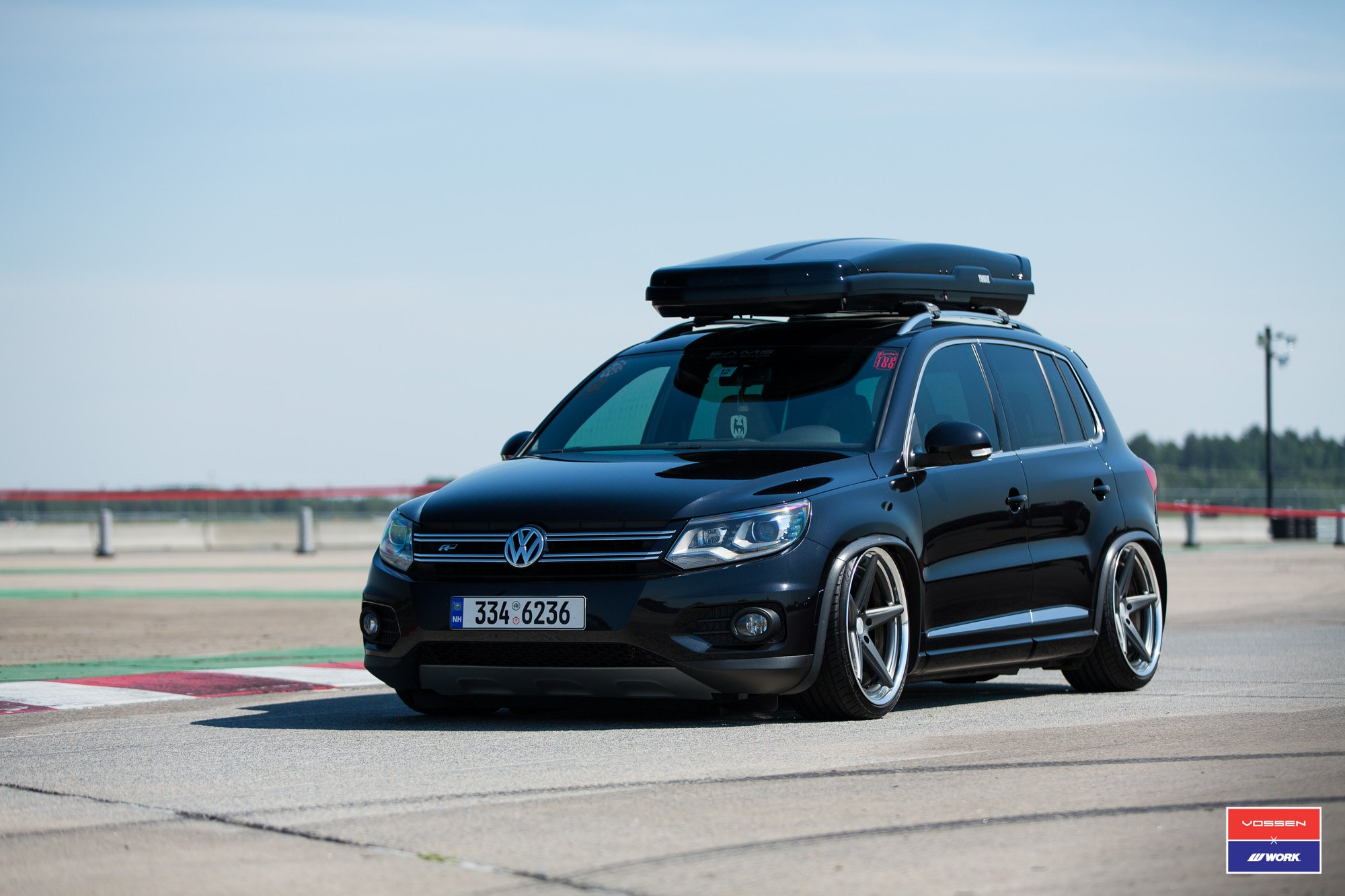 Black Volkswagen Tiguan Boasts Thule Roof Rack And More