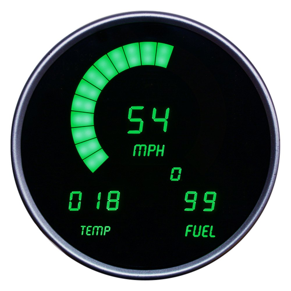 medium resolution of intellitronix direct fit led digital gauge panel green