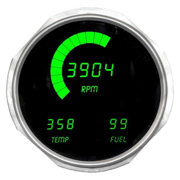 hight resolution of intellitronix direct fit led digital gauge panel green