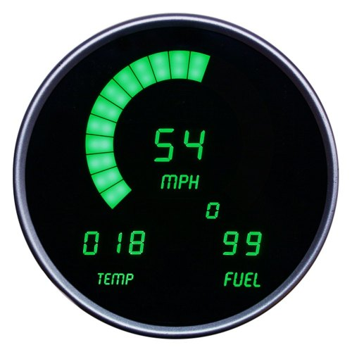 small resolution of intellitronix direct fit led digital gauge panel green