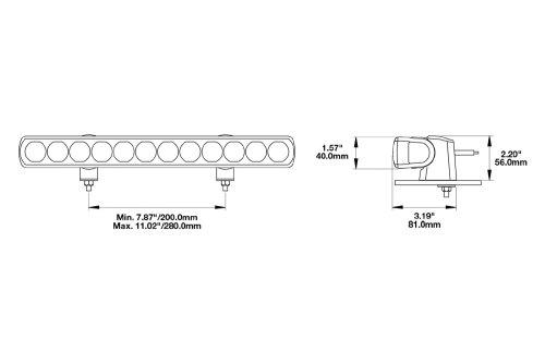 small resolution of  speaker 14 60w high beam led light bar light beam