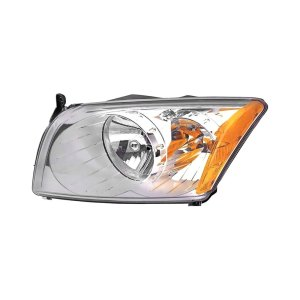KMetal®  Dodge Caliber without Auto Leveling Headlights 2007 Replacement Headlight