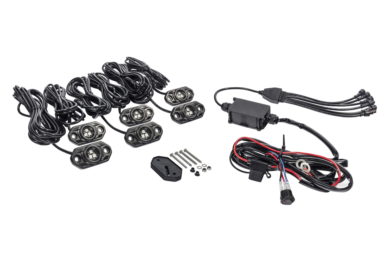 KC HiLiTES C-Series Bluetooth Multicolor LED Rock Light