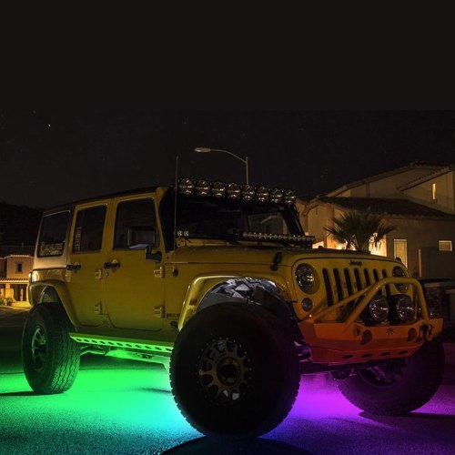 small resolution of kc hilites c series bluetooth multicolor led rock light kit