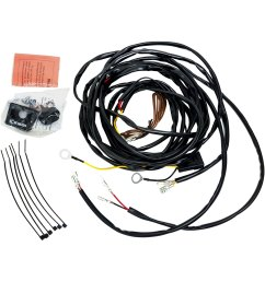 kc hilites 63082 wiring harness for two cyclone led lights kc daylighter wiring harness kc wiring harness [ 1500 x 1500 Pixel ]