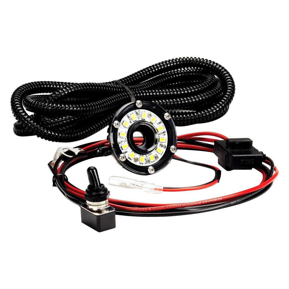 medium resolution of kc hilites 354 one light cyclone series under hood kc light kit wiring diagram