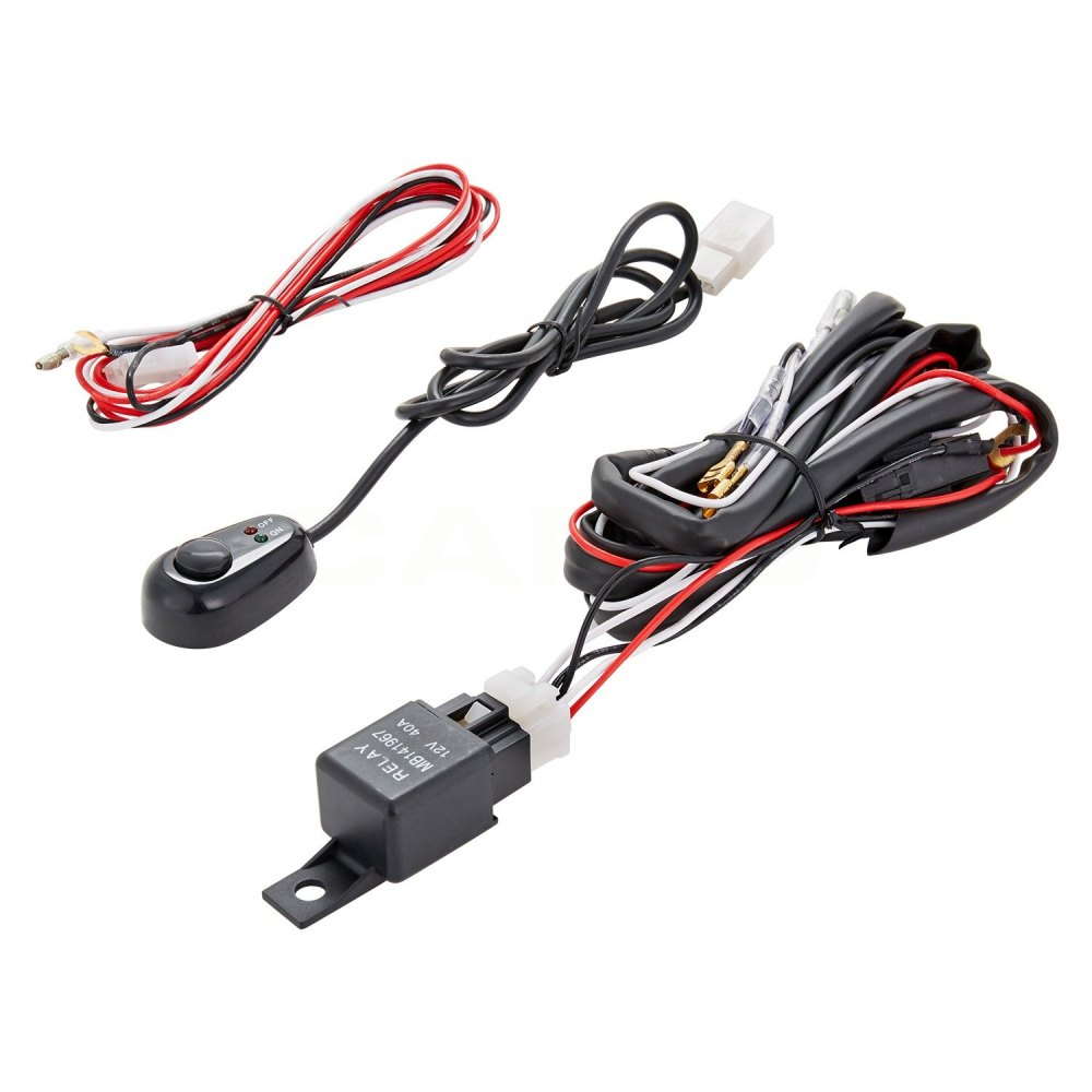 medium resolution of lumen fog light wiring harness with switch