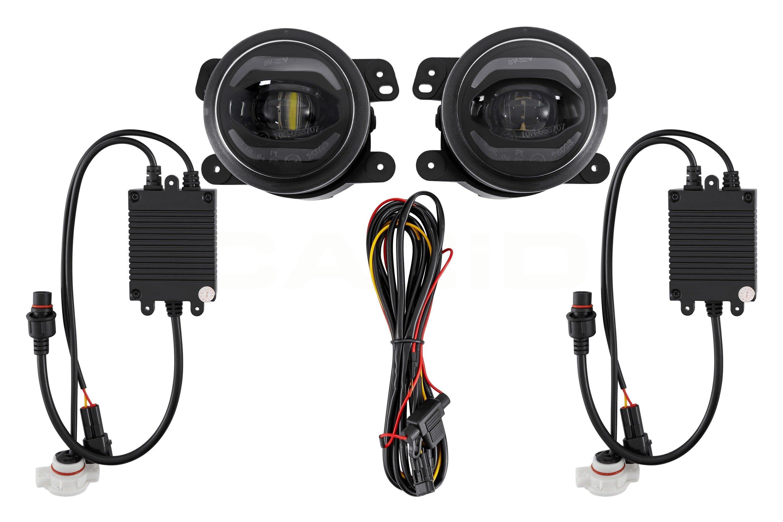 For Jeep Wrangler 2010-2015 Lumen FGDR1-JPWR Projector LED