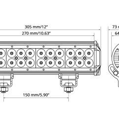 wiring harnesslumen 12 72w dual row combo beam led light bar scheme [ 3000 x 2000 Pixel ]