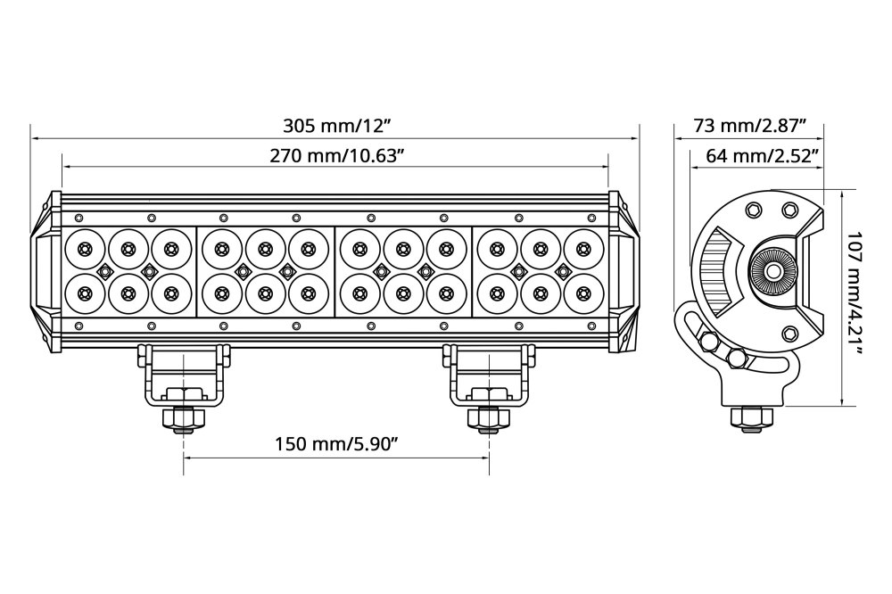medium resolution of  wiring harnesslumen 12 72w dual row combo beam led light bar scheme