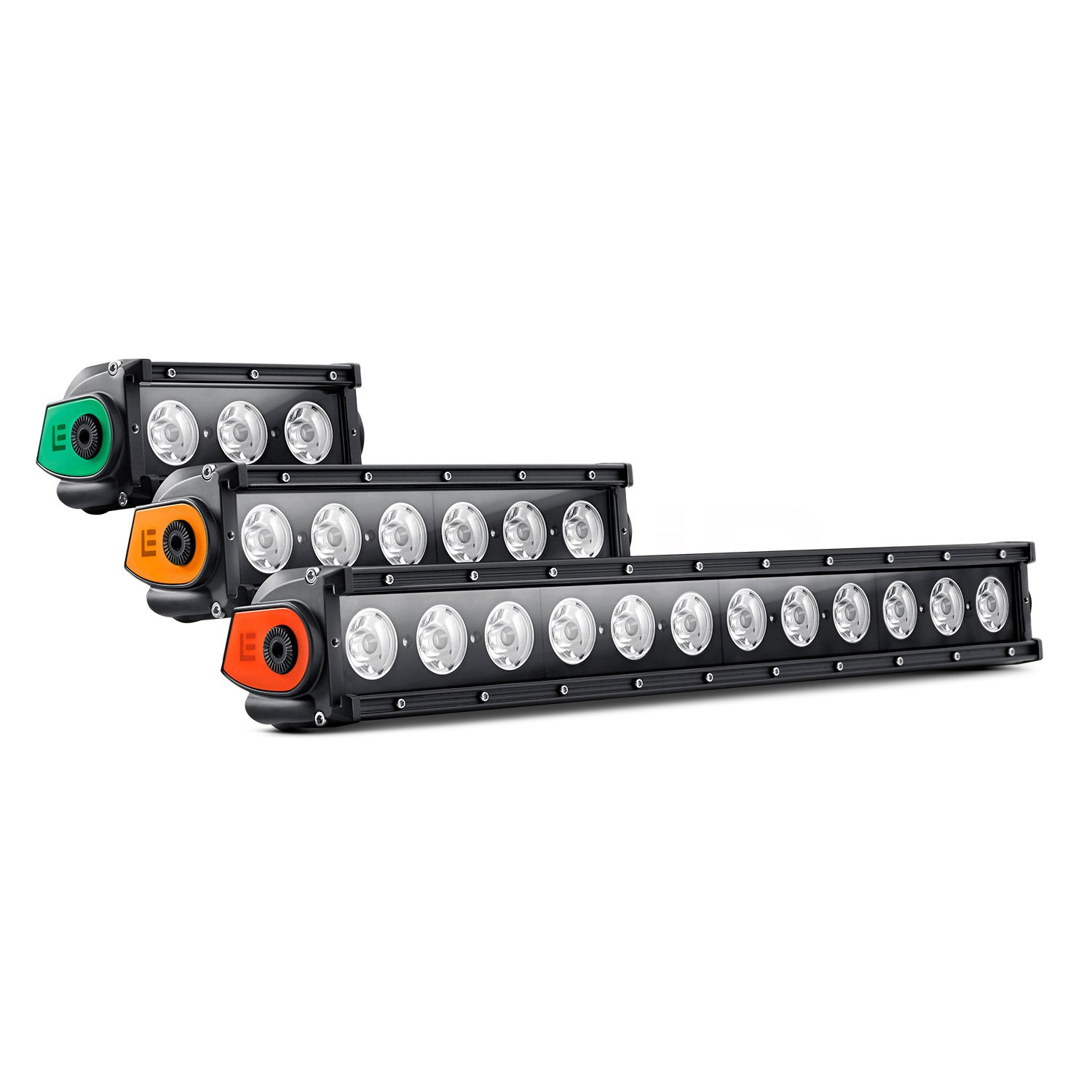 Camper Wiring Harness Lumen 174 Single Row Led Light Bar With Illuminated End Caps