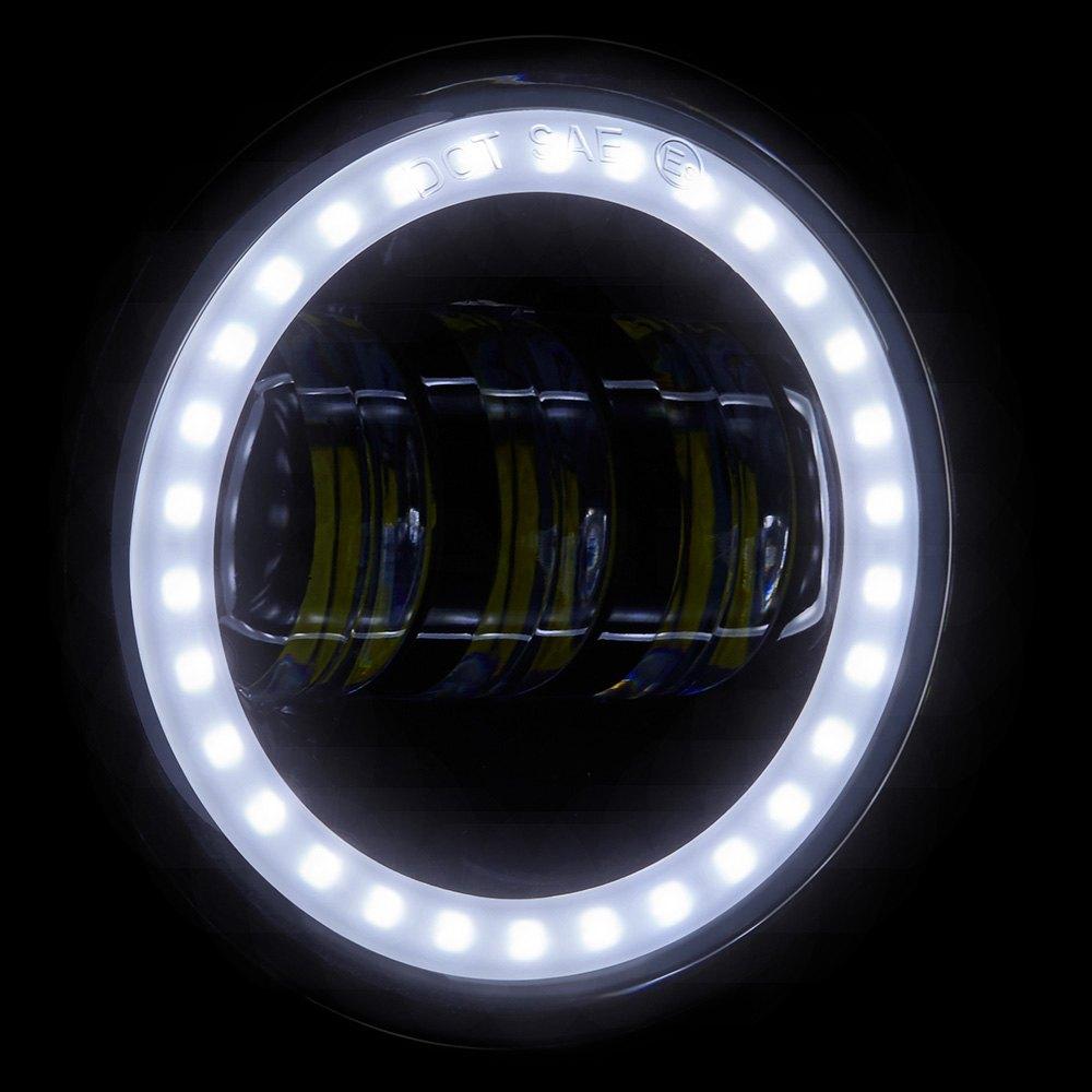Lumen  Halo LED Fog Lights