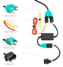 halo headlight wiring diagram 5 7 lumen u00ae jeep wrangler 2016 7 quot round black projector led [ 1000 x 1000 Pixel ]
