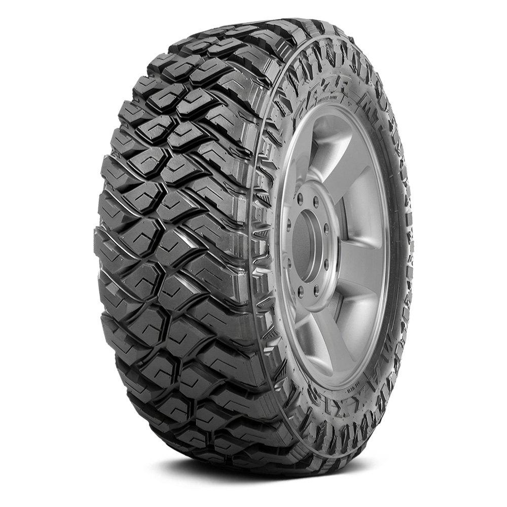 Maxxis Set of 4 Tires 37X12.5R17 Q RAZR MT All Terrain / Off Road / Mud | eBay