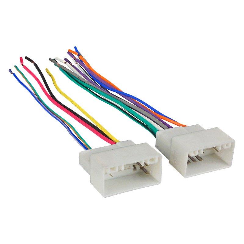 Metra® 70 7304 Aftermarket Radio Wiring Harness With OEM Plug