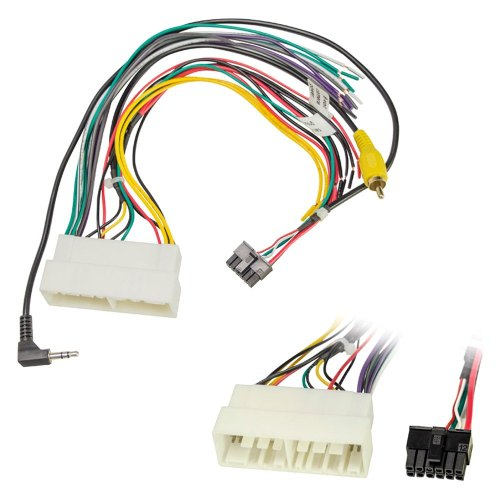 small resolution of metra aftermarket radio wiring harness with oem plug