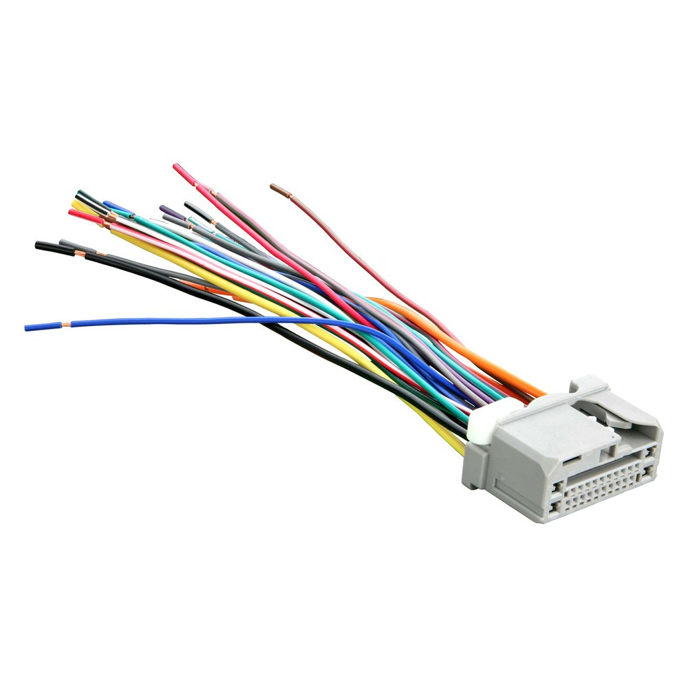hight resolution of  71 1729 metra 71 1729 factory replacement wiring harness with oem radio wiring tow