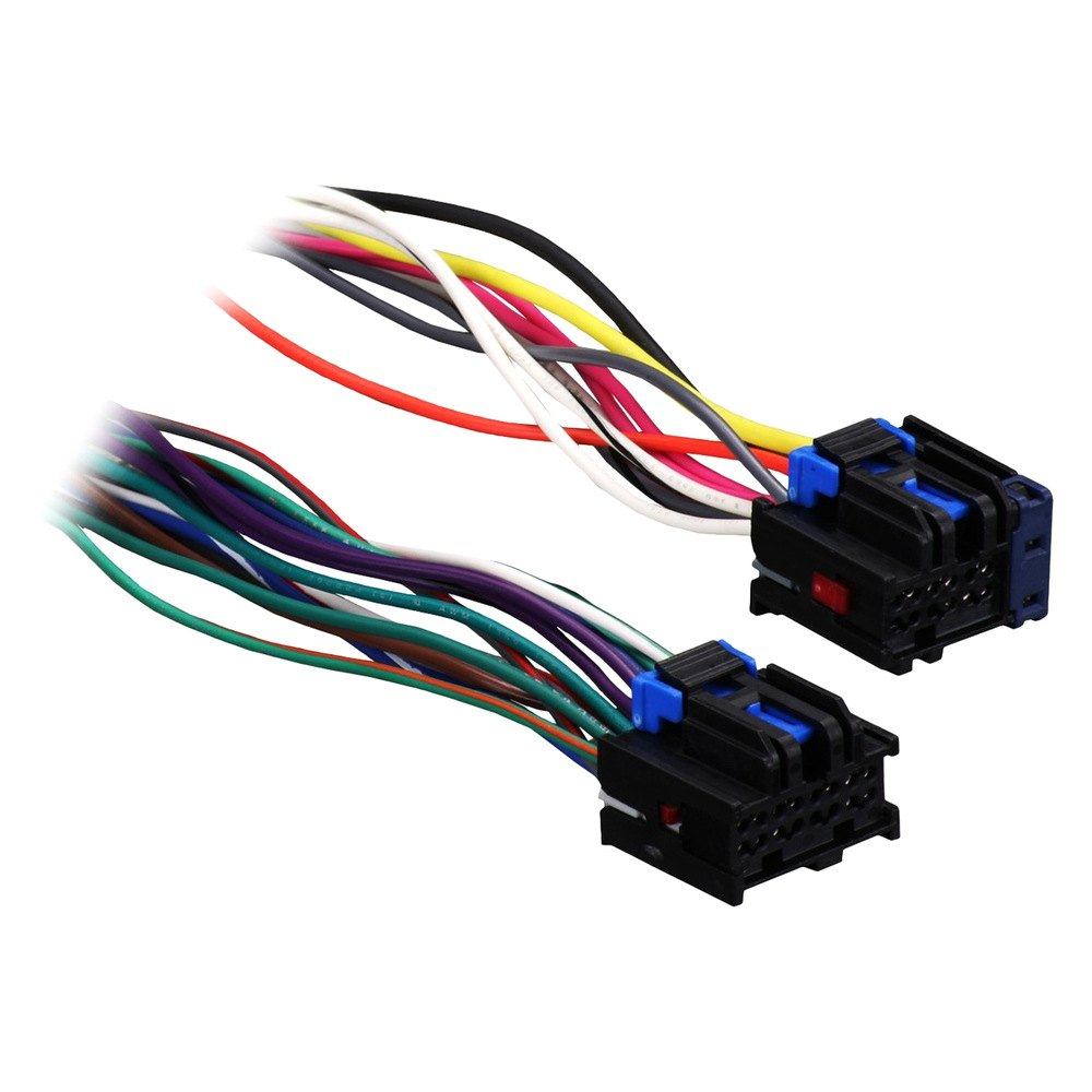 hight resolution of metra factory replacement wiring harness with oem radio plug