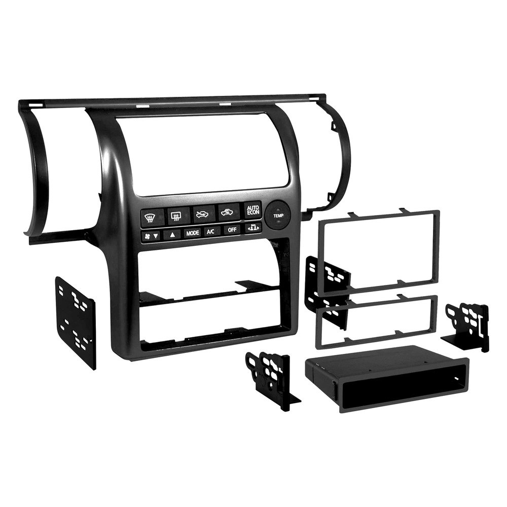 hight resolution of metra single double din stereo dash kit