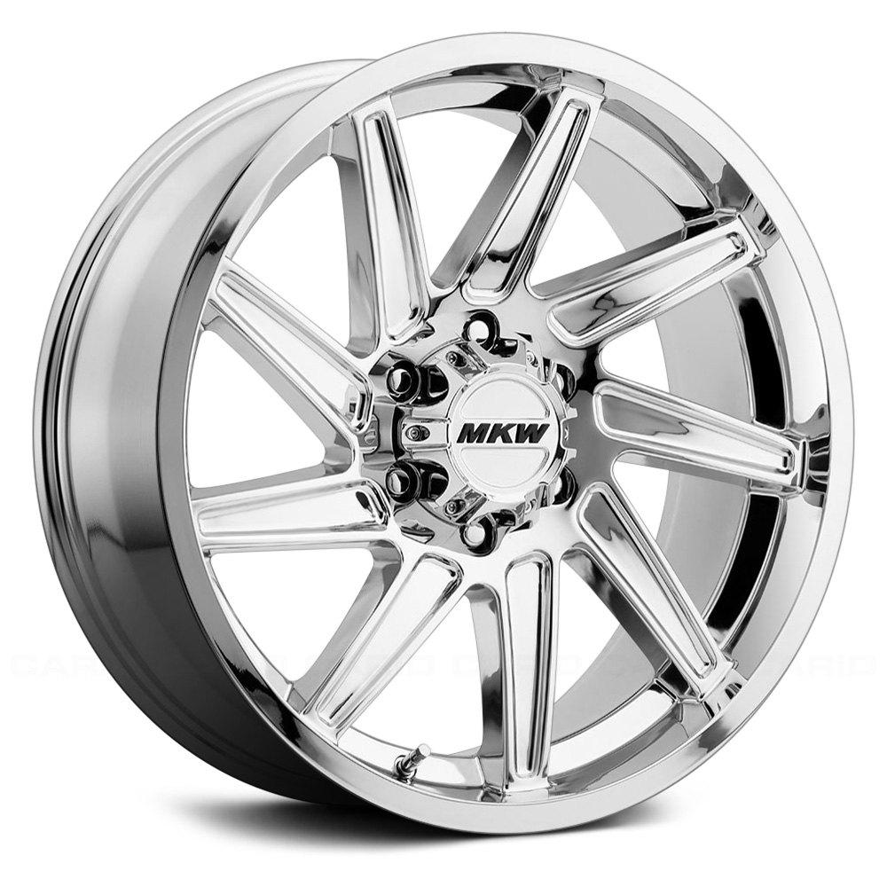 MKW OFFROAD M97 Wheels  Chrome Rims