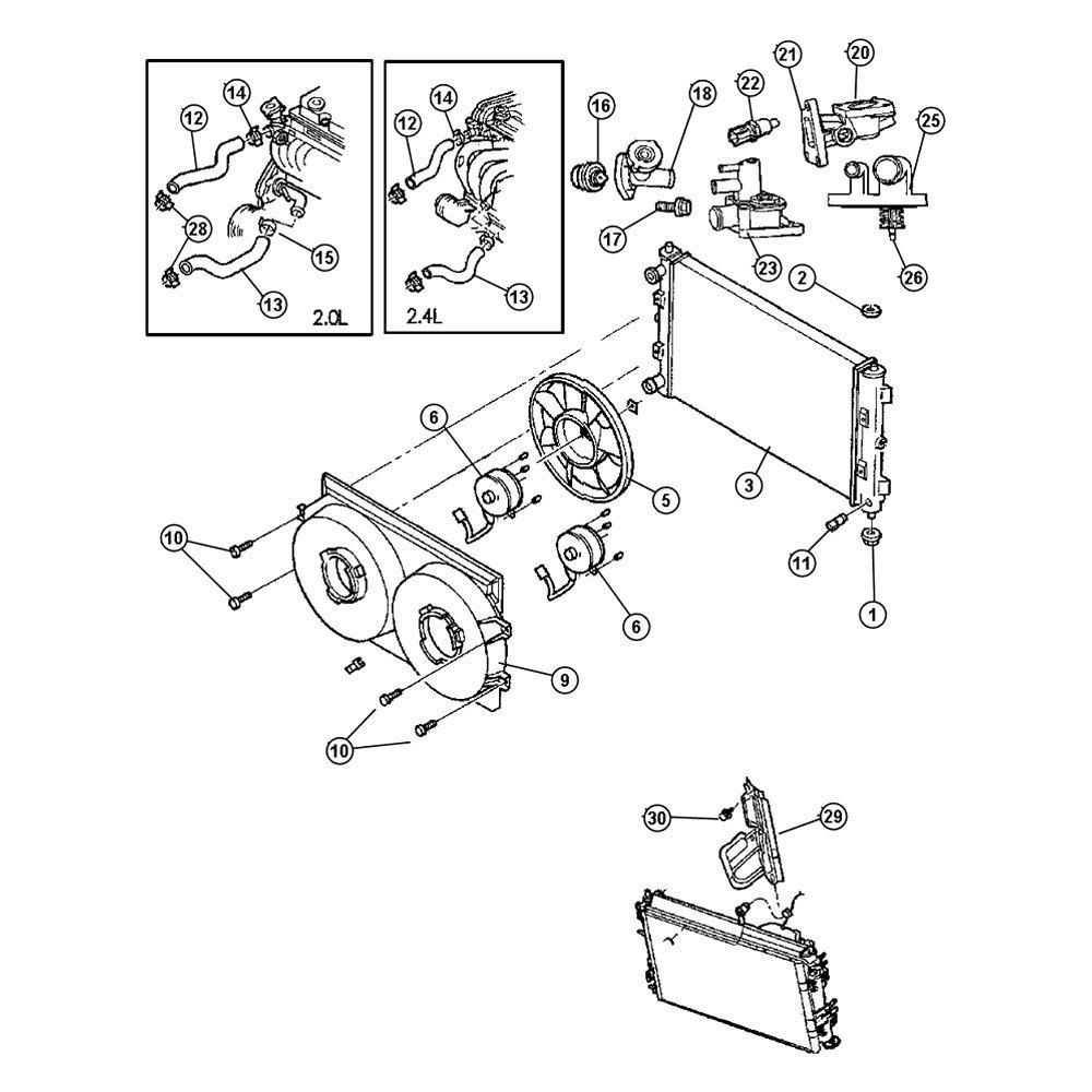 [WRG-1299] Dodge Engine Cooling Diagram