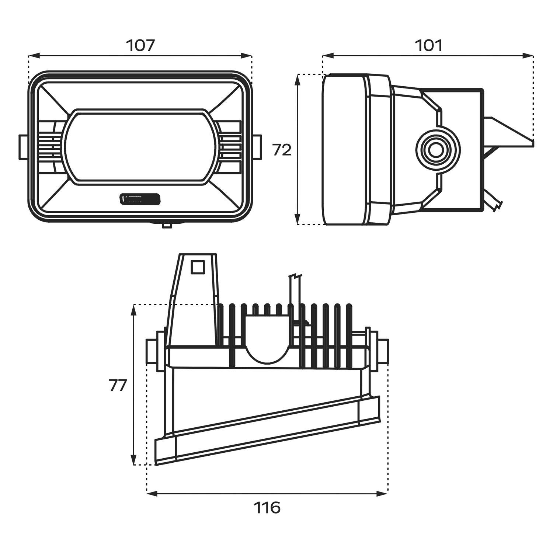 For Ford F 250 Super Duty Morimoto Projector Led Fog Lights
