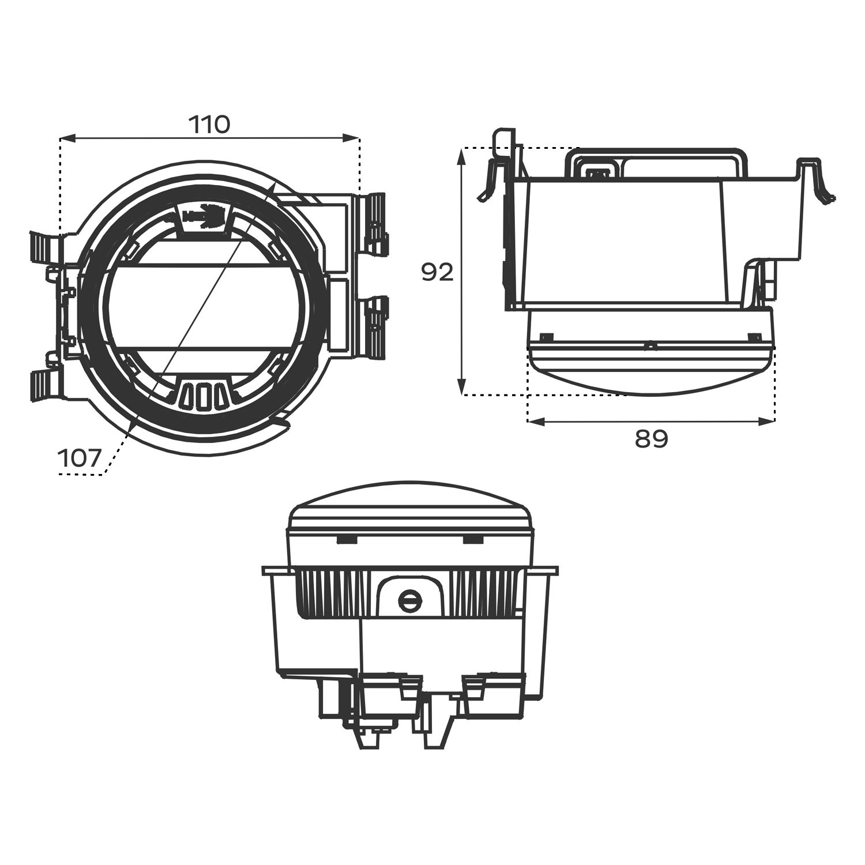 For Subaru Wrx Morimoto Xb Projector Led Fog