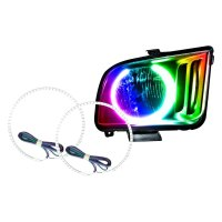 Oracle Lighting - Ford Mustang 2005-2009 Color Halo Kit ...