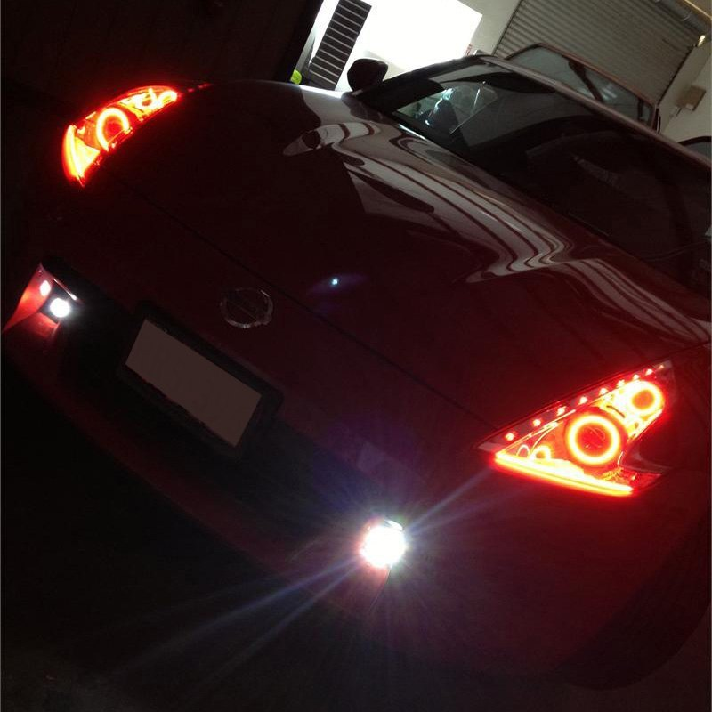 Oracle Lighting  Nissan 370Z 20092014 Color Dual Halo