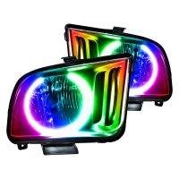 Oracle Lighting 7048-504 - Black Factory Style Headlights ...